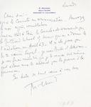 Henri Temianka Correspondence; (dmilhaud)