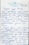 Henri Temianka Correspondence; (doistrakh)