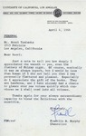 Henri Temianka Correspondence; (fmurphy)