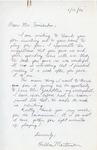 Henri Temianka Correspondence; (martinson)