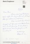 Henri Temianka Correspondence; (mayer)