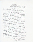 Henri Temianka Correspondence; (mell)