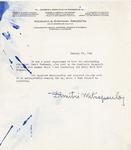 Henri Temianka Correspondence; (mitropoulos)