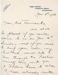 Henri Temianka Correspondence; (moiseiwitsch)