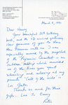 Henri Temianka Correspondence; (ostwald)