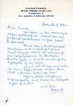 Henri Temianka Correspondence; (pennario)