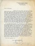 Henri Temianka Correspondence; (persinger)