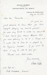 Henri Temianka Correspondence; (piston)