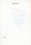 Henri Temianka Correspondence; (price)