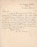 Henri Temianka Correspondence; (wmpalmer)