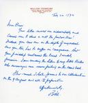 Henri Temianka Correspondence; (wprimrose)