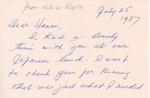Henri Temianka Correspondence; (arejto)