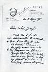 Henri Temianka Correspondence; (hofmann)