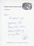 Henri Temianka Correspondence; (robertson)