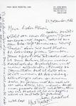 Henri Temianka Correspondence; (rostal)