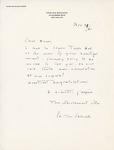 Henri Temianka Correspondence; (salzedo)