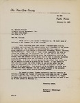 Henri Temianka Correspondence; (schlesinger)