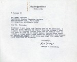 Henri Temianka Correspondence; (schonberg)