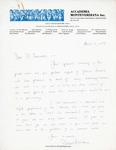 Henri Temianka Correspondence; (dstevens)