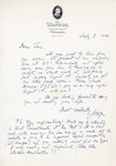 Henri Temianka Correspondence; (szell)
