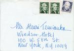 Henri Temianka Correspondence; (walevska)
