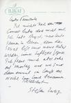 Henri Temianka Correspondence; (zweig)