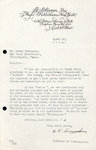 Henri Temianka Correspondence; (schirmer)