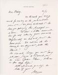 Henri Temianka Correspondence; (Adriani)