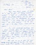 Henri Temianka Correspondence; (afrost)