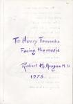 Henri Temianka Correspondence; (aragon)