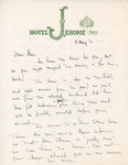 Henri Temianka Correspondence; (aspen institute) by Leonard Woods