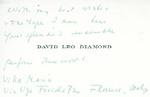 Henri Temianka Correspondence; (diamond)
