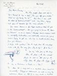 Henri Temianka Correspondence; (eloesser)