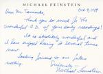 Henri Temianka Correspondence; (feinstein)