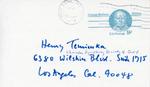 Henri Temianka Correspondence; (foss)