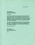 Henri Temianka Correspondence; (green)