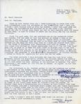 Henri Temianka Correspondence; (gregar)