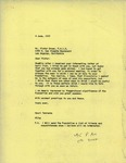 Henri Temianka Correspondence; (gruen)