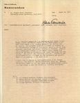 Henri Temianka Correspondence; (horn)