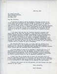 Henri Temianka Correspondence; (horowitz)