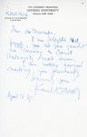 Henri Temianka Correspondence; (husa)