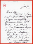 Henri Temianka Correspondence; (anne baxter)