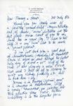 Henri Temianka Correspondence; (bergman)