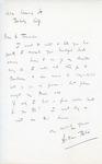 Henri Temianka Correspondence; (bliss)