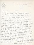 Henri Temianka Correspondence; (firkusny)