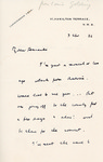 Henri Temianka Correspondence; (golding)
