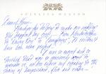 Henri Temianka Correspondence; (huston)
