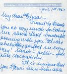 Henri Temianka Correspondence; (huttenback)