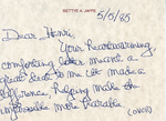 Henri Temianka Correspondence; (jaffe)