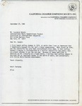 Henri Temianka Correspondence; (kahane)